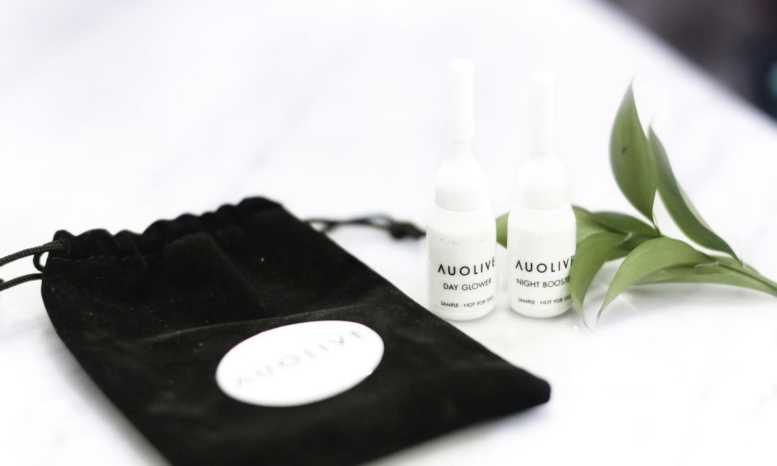 first impression: auolive skin care