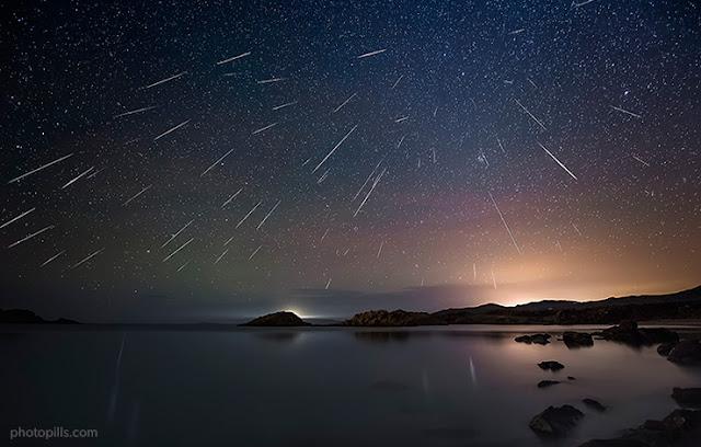 chuva de meteoros - dicas de observação