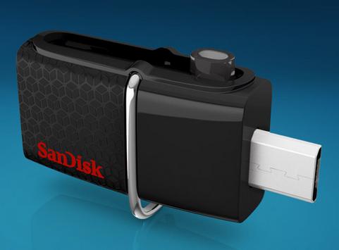 Флеш-диск SanDisk Ultra Dual USB/micro-USB OTG Drive 3.0