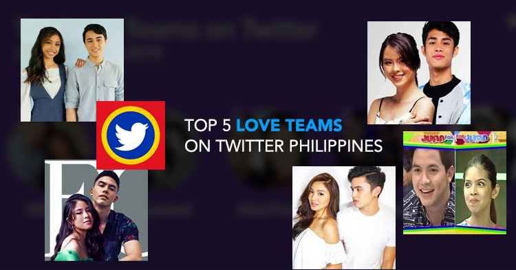 Top 5 Love Teams on Twitter Philippines