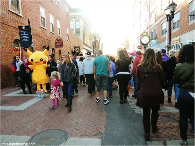 Fin de Semana de Octubre en Salem