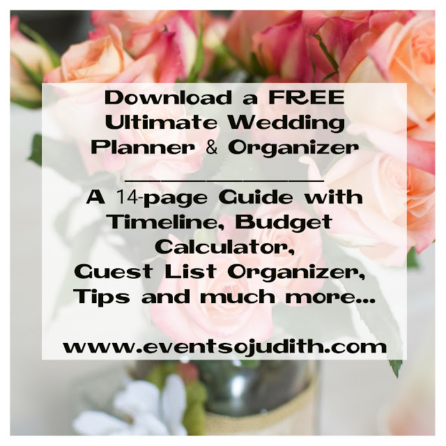 EventSoJudith Your OneStop Wedding Party and Event Planning
