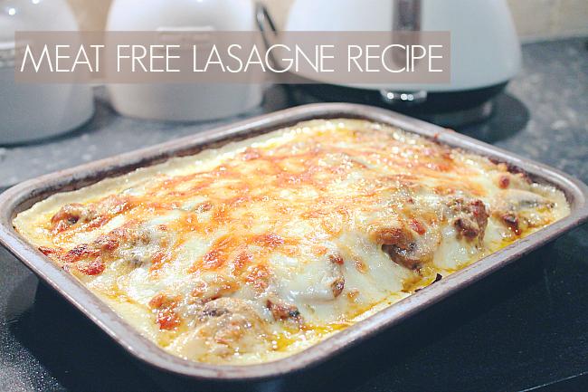 meat free lasagne, quorn lasagne,