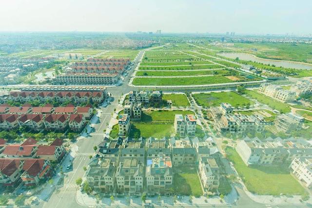 Cảnh quan hoàn hảo tại khu đô thị, biệt thự Dương Nội.