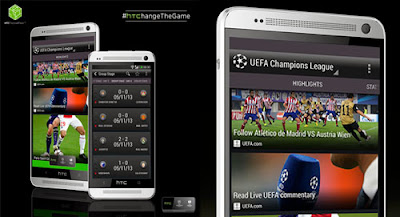 HTC FootballFeed for Android