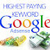 Download 8000 Highest Paying Adsense Keyword