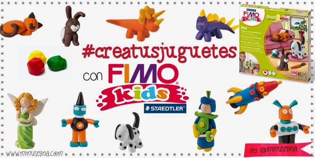 fimo kids crea tus juguetes mimuselina