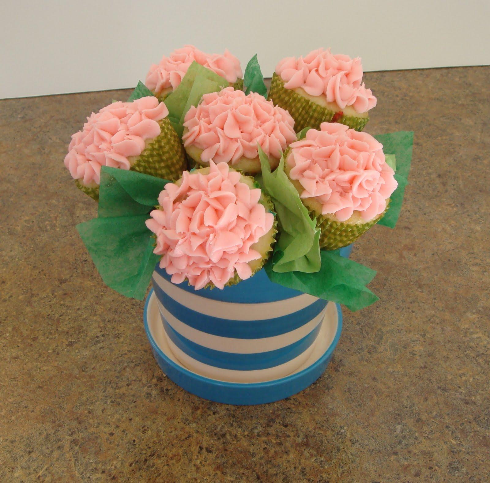 Fleur De Lectable Cupcake Bouquet