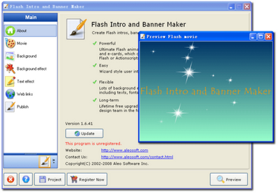 Aleo Flash Intro Banner Maker 3.4 Portable