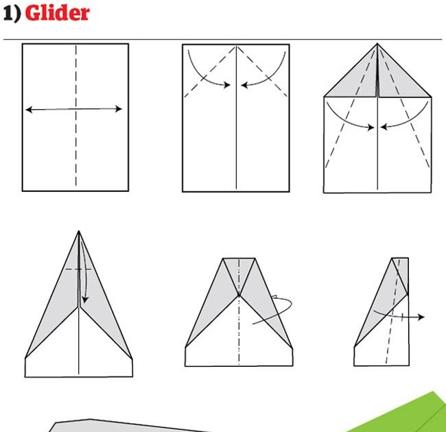 How To Make Cool Paper Airplane Designs Calvin's Canadian Cave...
