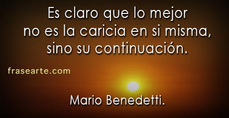 Mario Benedetti – Frases de amor