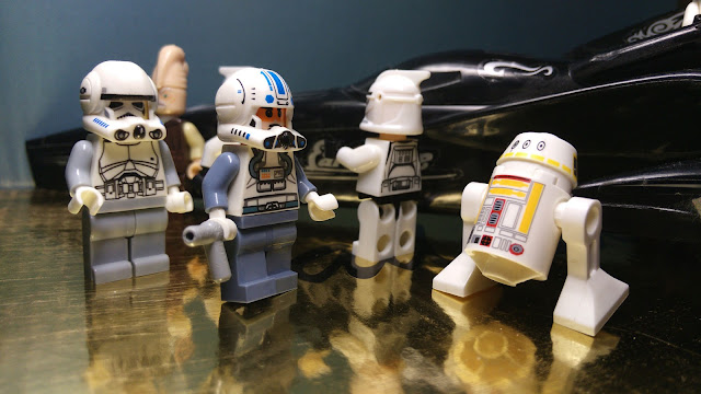 Clone trooper pilots, Star Wars