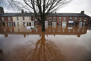 Severe flooding in Carlisle, north-west England, December 2015. (Photograph Credit: Andrew Yates/Reuters) Click to Enlarge.