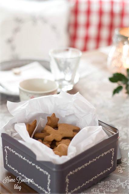 świąteczna aranżacja stołu