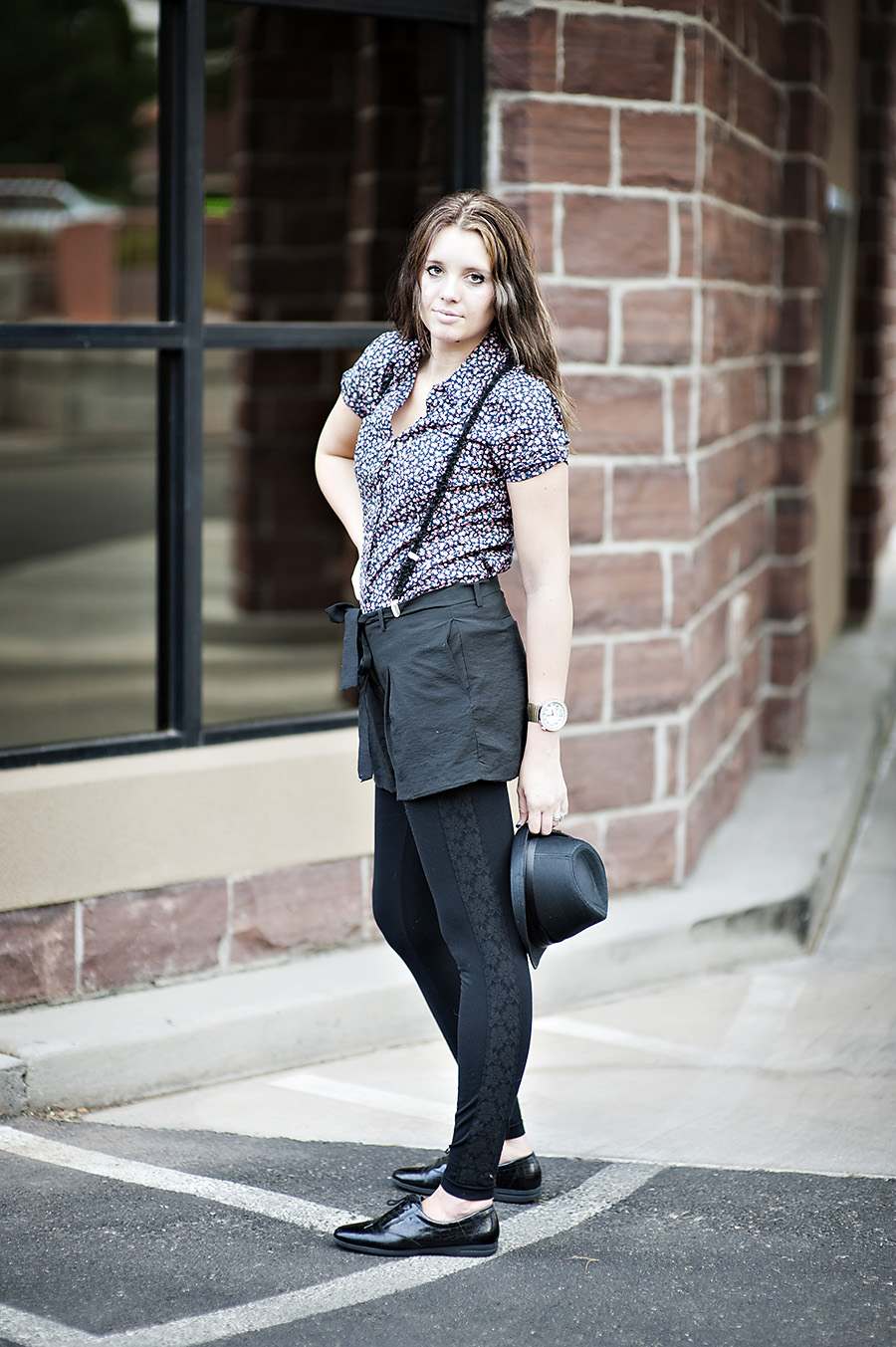Black leggings, Utah Fashion