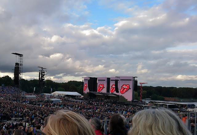Open Air der Rolling Stones im Hamburger Stadtpark