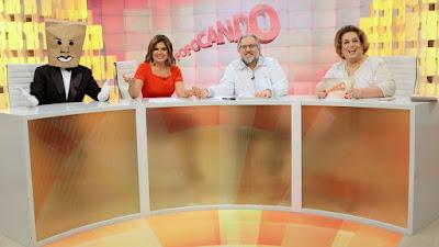Homen do Saco, Mara Maravilha, Leão Lobo e Mama Bruschetta  Foto: Lourival Ribeiro/SBT
