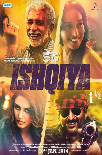 Dedh Ishqiya 2014 Official Trailer 720p HD