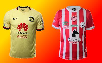 Previa América vs Necaxa futbol mexicano