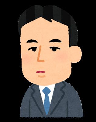 八木重吉の似顔絵イラスト