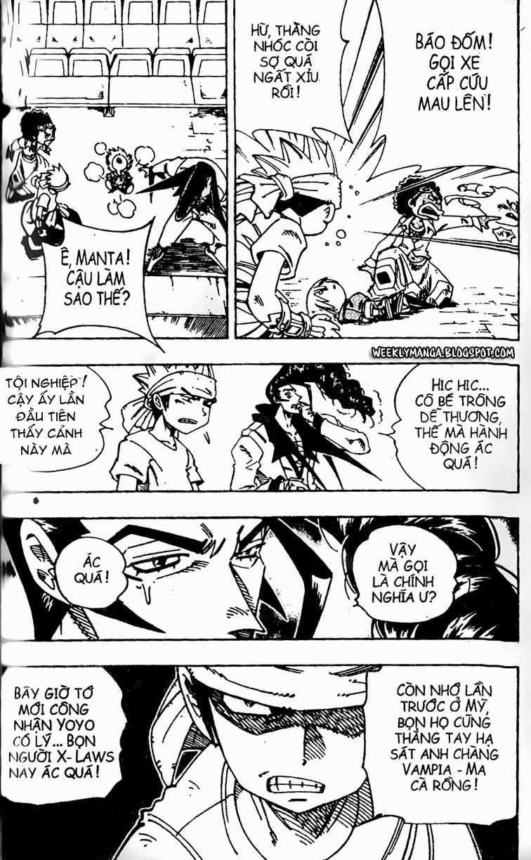 Shaman King [Vua pháp thuật] chap 125 trang 18