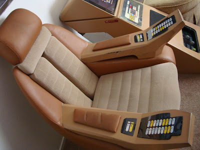 star trek captain s chair plans reclining desk workstation prop costume auction authority the below should not be considered screen or exhibit accurate at all though it was possible to identify and replicate some of generations button text