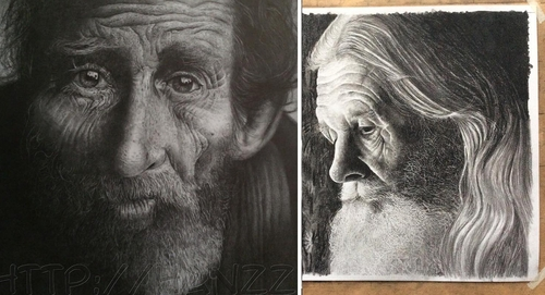 00-Hans-Deconinck-Hanzz-Art-Everyday-People-Illustrated-with-Realistic-Drawings-www-designstack-co