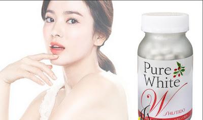 Cách sử dụng viên uống trắng da shiseido Nhật bản