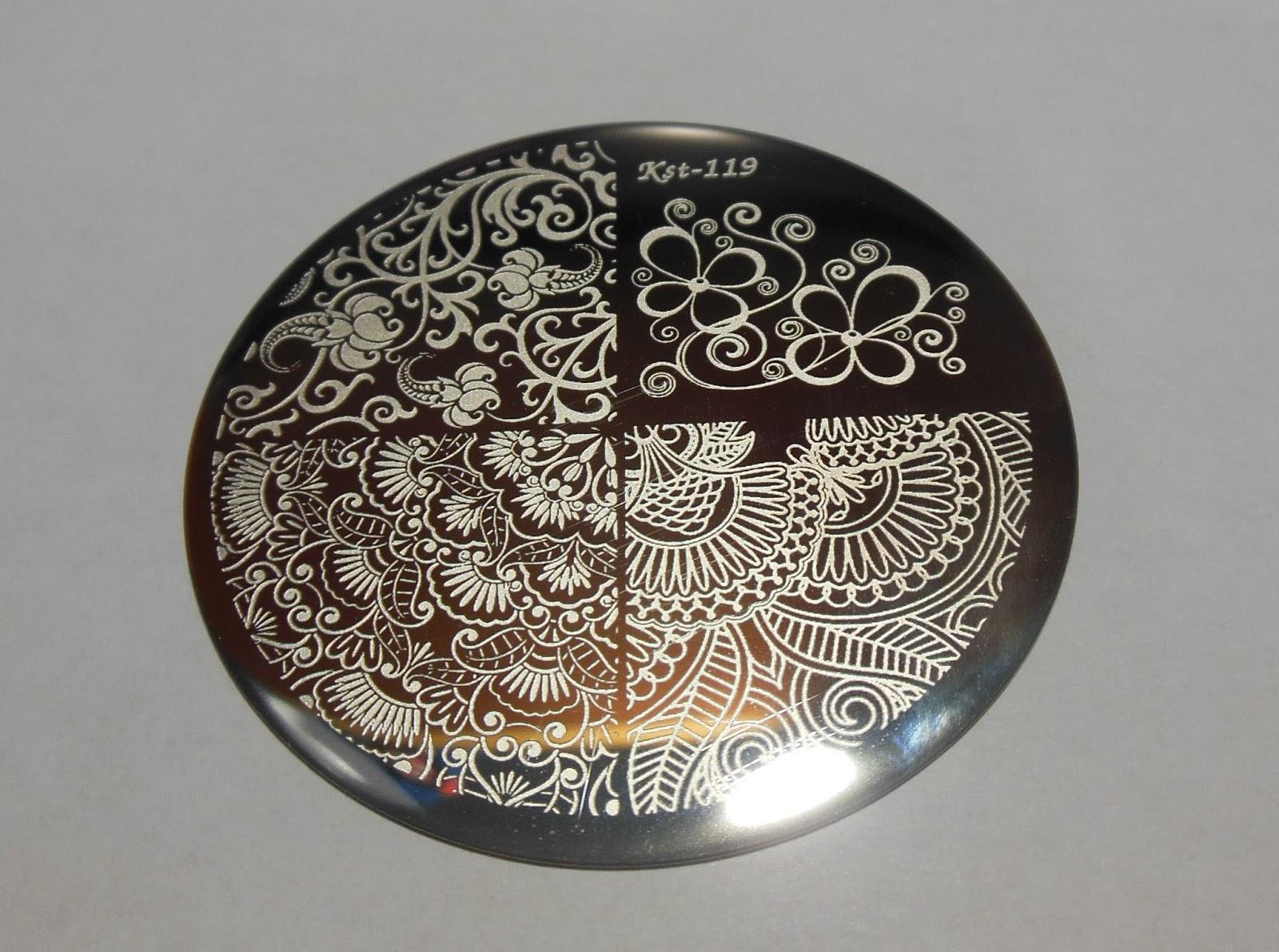 El Corazon диск для стемпинга № EC-s 539