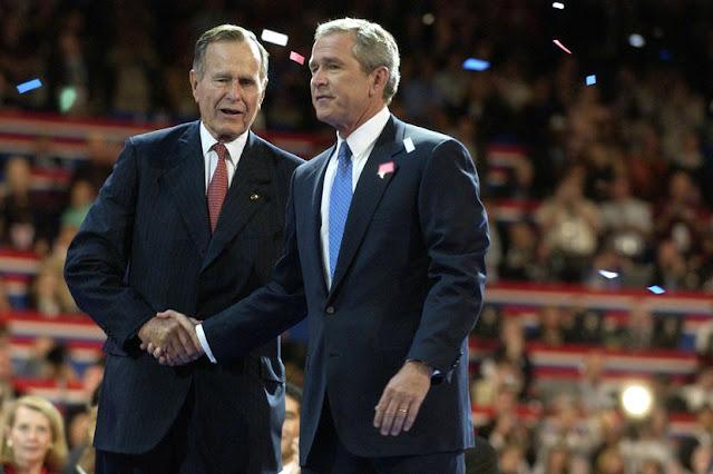 George H.W. Bush(老布希)與George W. Bush(小布希)電影美國製造