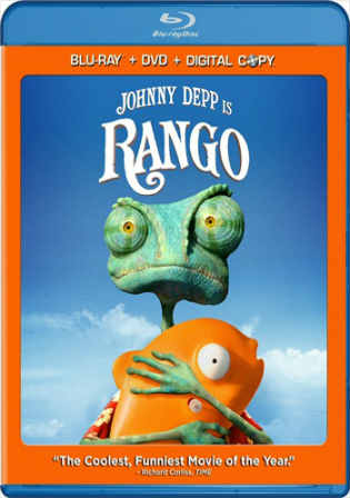 Rango 2011 BluRay 750MB Theatrical Cut Hindi Dubbed ORG 720p Watch Online Full Movie Download bolly4u