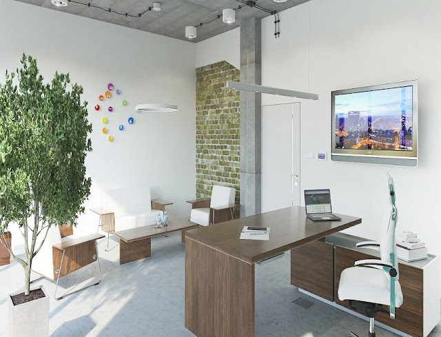 best feng shui for office desk at home with lighting and decor ideas