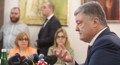 Порошенко объявил, что АТО закончится в мае