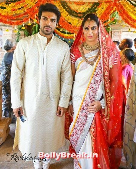 Ram Charan Teja, Upasana Kamineni, Tollywood Marriage Pics - South Indian Marriage Pics of Actresses & Actors