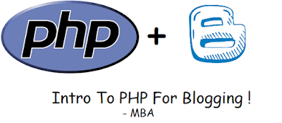 php with blogging