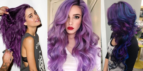 Purple Hair Dye Styles: Awesome Purple Shades!