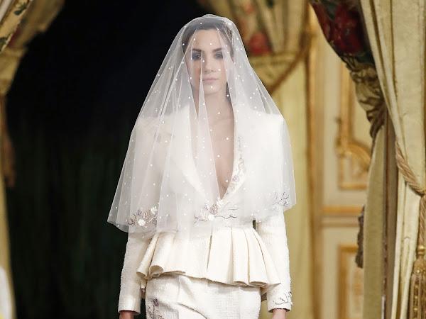 10 novias con pantalón atrevidas y sofisticadas - Desfile Atelier Couture