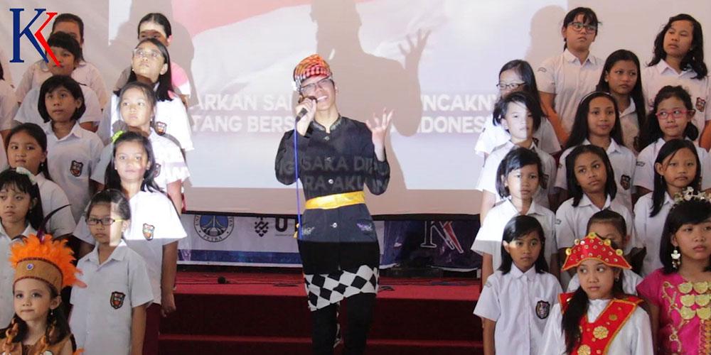 Didukung Padus SD, SMP-SMA KK Peringati 90 Tahun Sumpah Pemuda