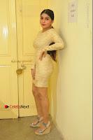 Actress Pooja Roshan Stills in Golden Short Dress at Box Movie Audio Launch  0027.JPG