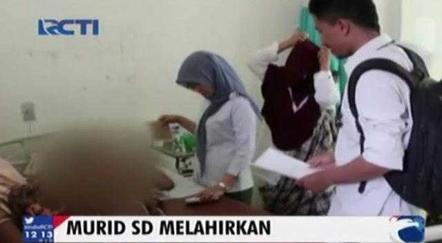 Miris, Bocah Perempuan 13 Tahun Melahirkan, Kasian Sosok Bayi Mungil yang Tak Berdosa itu