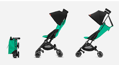 the GB Pockit+ compact fold travel stroller, 3 different configurations, Kidsland