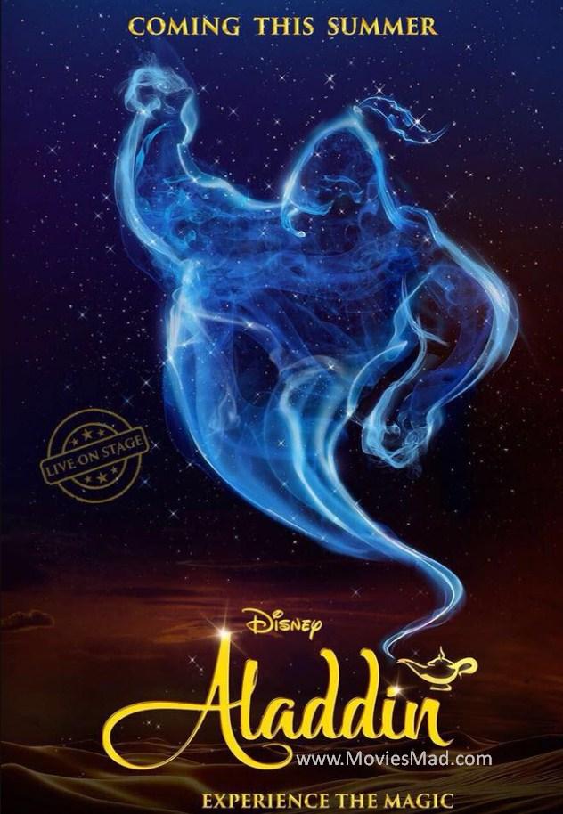 Aladdin 2019 star cast crew story trailer budget release date moviesmad com - Aladdin 2019 poster ...