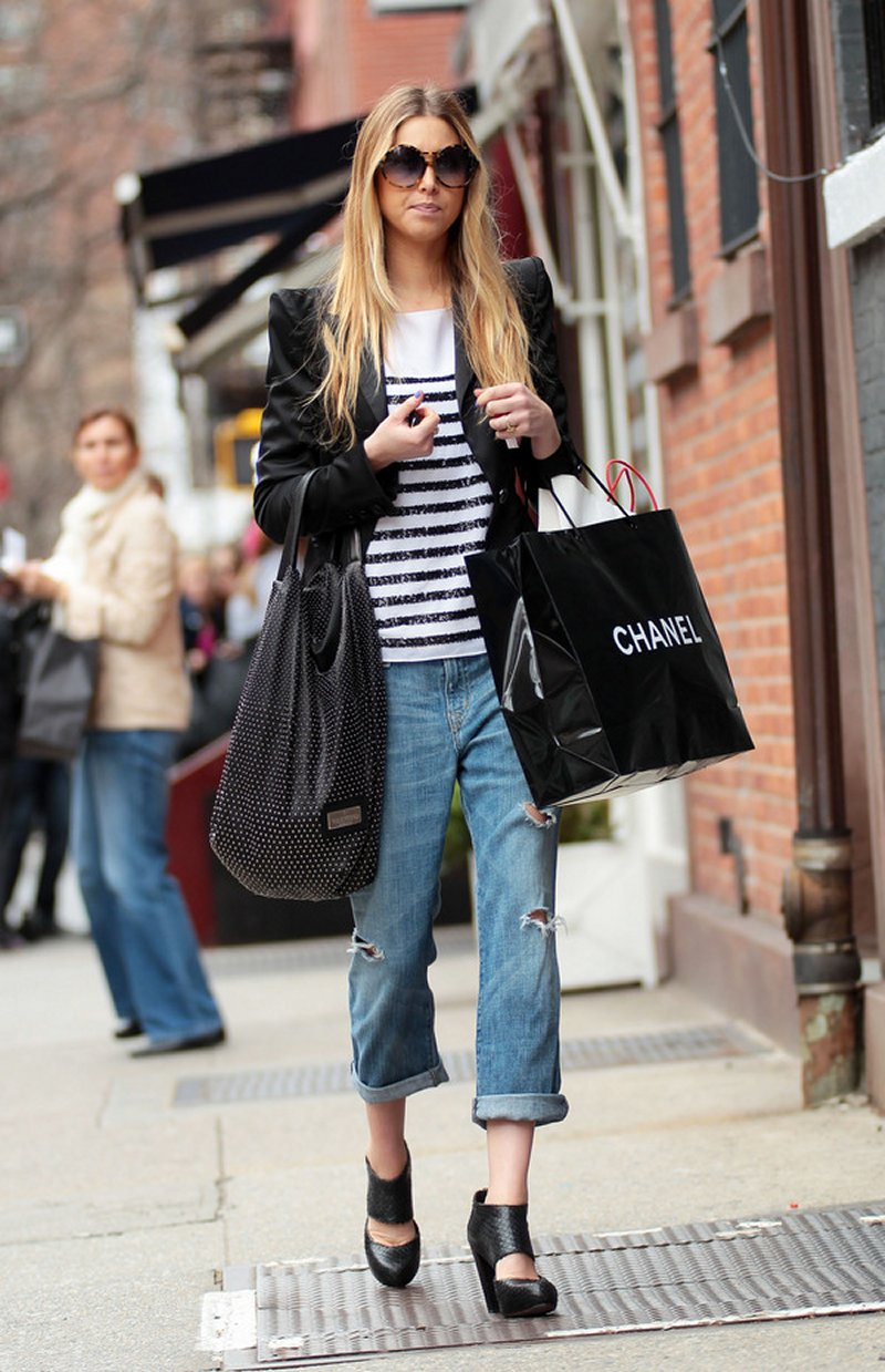 Whitney Port: Her Best Off-Duty Street Style Moments - The ...