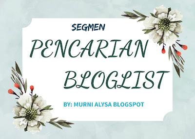 Segmen Pencarian Bloglist