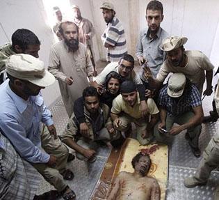 Muammar Gaddafi Died