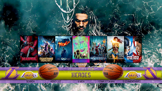lakers build kodi