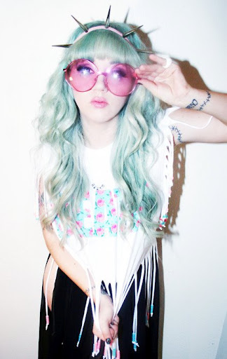 Pastel Candy Land Pastel Goth Hair