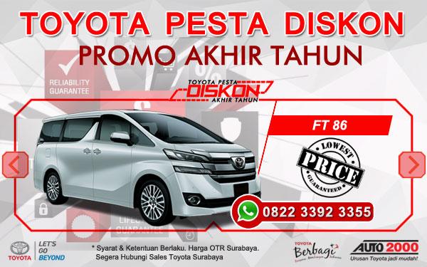 Promo Akhir Tahun Toyota Vellfire Surabaya