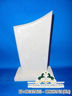 Jual Bahan Plakat Marmer, Bentuk Plakat Marmer, Bahan Vandel Plakat Marmer Putih