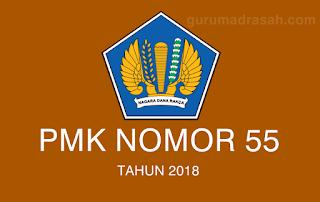 pmk no 55 tahun 2018